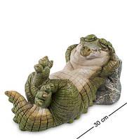 """Фигурка """"Крокодил"""" 29x14,5x15,5 см., полистоун Sealmark, США"""