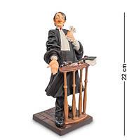 "Статуэтка ""Адвокат"" 11,5x10,5x22 см., полистоун Forchino, Франция"