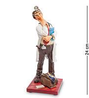 "Статуэтка ""Доктор"" 9,5x9x24 см., полистоун Forchino, Франция"
