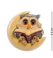 """Фигурка-магнит """"Сова"""" 5x1,5x5,5 см., полистоун Sealmark, США, фото 1"""