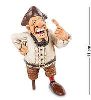 """Фигурка Пират """"Одноногий Кортес"""" 7x6x11 см., полистоун Warren Stratford Канада"""