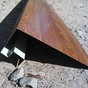 """Доборные элементы, комплектующие для металлосайдинга - """"Приоконный профиль"""", фото 2"""