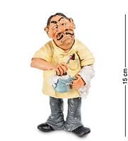 "Статуэтка ""Парикмахер"" 8x7x15 см., полистоун Warren Stratford Канада"