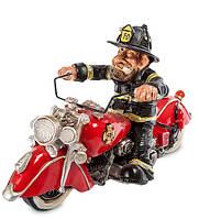 "Фигурка ""Пожарный Байкер"" 23x11x13 см., полистоун Warren Stratford Канада"