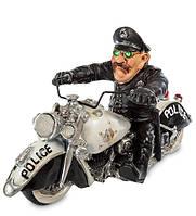"Фигурка ""Полицейский Байкер"" 23x11x13 см., полистоун Warren Stratford Канада"