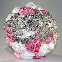 Свадебный брошь букет для невесты