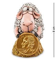 """Фигурка Овца """"Монета на Удачу"""" 5,5x6,5x8 см., полистоун Warren Stratford Канада"""