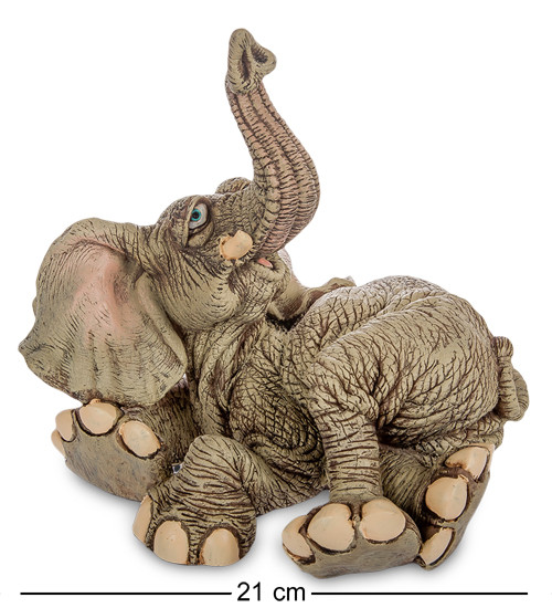 "Фігурка Слон ""Ледар"" 21x18x21 див., полістоун Sealmark, США"