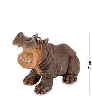 "Фигурка Бегемот ""Певец"" 7x4,5x7 см., полистоун Sealmark, США"