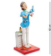 "Статуэтка ""Стоматолог"" 17x17x42 см., полистоун Forchino, Франция"