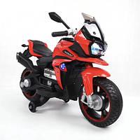 Дитячий електромотоцикл Baby Tilly T-7227 з USB red