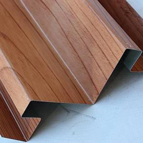 """Доборные элементы, комплектующие для металлосайдинга - """"Угол сложный внутренний"""", фото 2"""