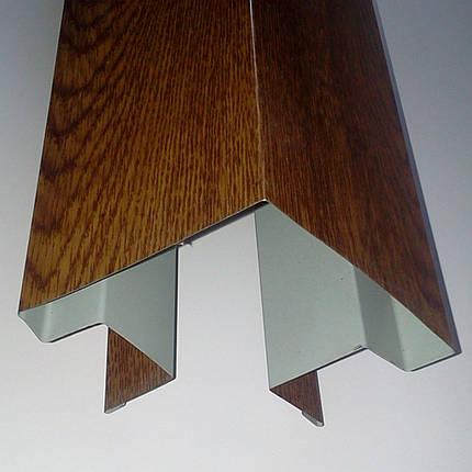 """Доборные элементы, комплектующие для металлосайдинга - """"Угол сложный внешний"""", фото 2"""