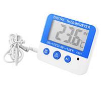 Термометр C601 с выносным датчиком градусник электронный