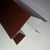 """Доборные элементы, комплектующие для металлосайдинга - """"Угол сложный внешний"""", фото 3"""