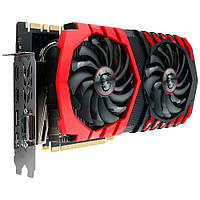 Видеокарта PCIe Nvidia GeForce GTX 1080 Ti 11GB MSI GeForce GTX 1080 Ti GAMING X 11G (912-V360-001) GDDR5 352bit DVI-D 2HDMI 2DP бу