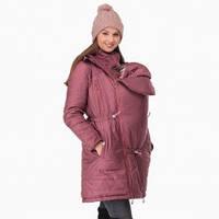 Зимняя Слингокуртка Роуз Марсала 3 в 1 Куртка Вставка для беременных Cлингокомплект L & C Пальто ( 42 L 44 )