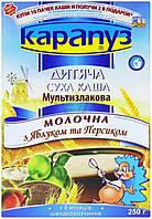 Каша молочная Карапуз с яблоком и персиком 4820012000937 250 г