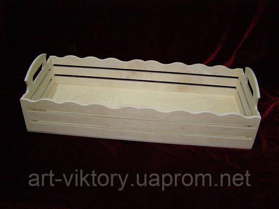 Короб (50 х 20 х 12,5 см), декор, фото 2