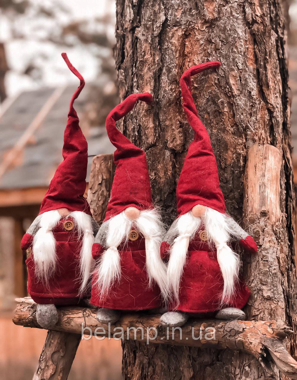 """Новогоднее украшение """"Красный эльф"""""""