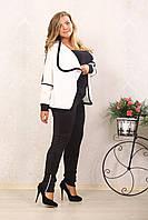 Женские модные брюки больших размеров (рр 48-72+), разные цвета