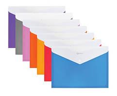 Папка-конверт на кнопці А4, з розширенням Optima