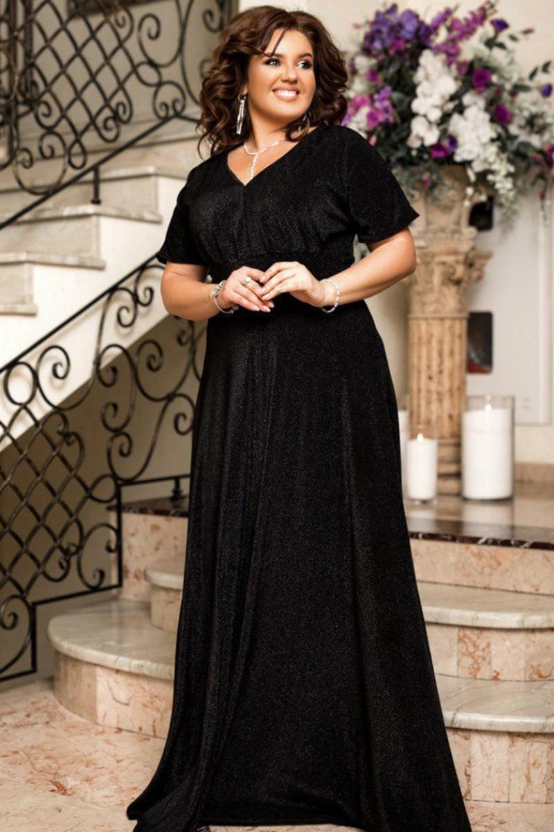Вечернее платье в пол Кларис