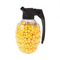 Пульки для детского оружия в гранате 1000шт патроны детские