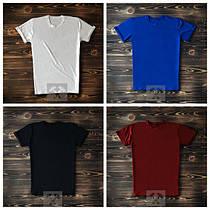 Мужские однотонные футболки