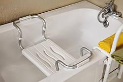 Сиденье для ванной 36*26 см, нагрузка до 150 кг (алюминиевый каркас) TM Prima Nova
