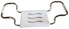 Сиденье для ванной 36*26 см, нагрузка до 150 кг (металл хром) TM Prima Nova