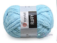 YarnArt Fluffy, Бирюза №718
