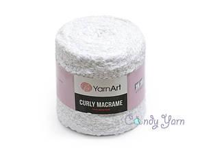 YarnArt Curly Macrame, Белый №751