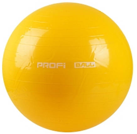Фитбол 85 см Profi Ball (MS 0384) Желтый, фото 2