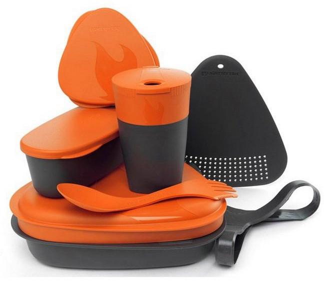 Набор посуды LIGHT MY FIRE MealKit (8 предметов) оранжевый