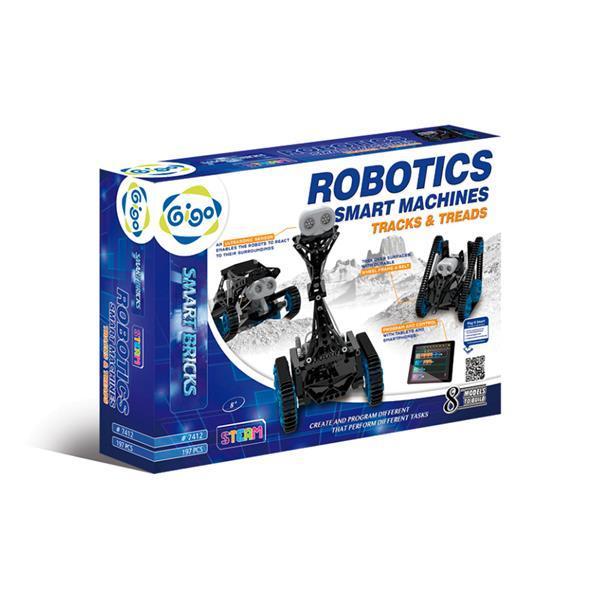 Конструктор Gigo Робототехника умные машины, гусеничная техника (7412)
