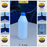 0682/1: Канистра (1 л.) новая пластиковая ✦ s - 1,8 мм, фото 1
