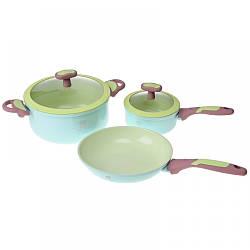 NA25KIT/BL Набор посуды из 3 предметов, Равенна LORA
