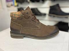 Зимние кожаные ботинки Abis