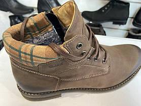 Зимние кожаные ботинки Abis, фото 3