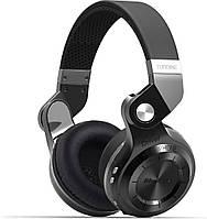 Беспроводные Bluetooth наушники Bluedio T2S с автономностью до 40 часов (Черный)