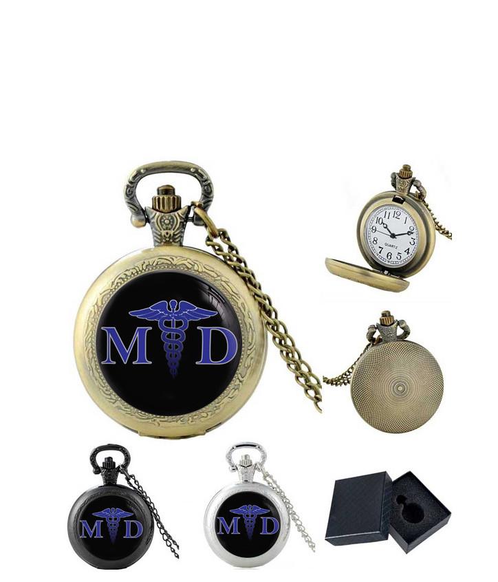 Карманные часы M.D. Кадуцей