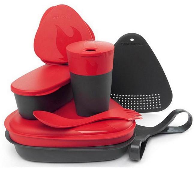 Набор посуды LIGHT MY FIRE MealKit (8 предметов) красный