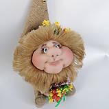 Оберіг лялька Домовик з грошима і ягідками і листочками, фото 5
