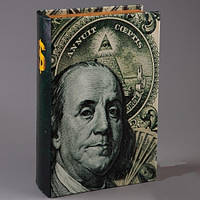 Книга сейф Бенджамин Франклин 26 см, Книга сейф Бенджамін Франклін 26 см