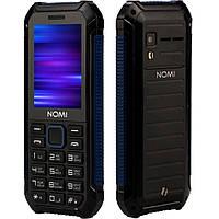Телефон противоударный Nomi i245 X-Treme Black-Blue