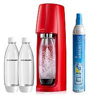 Сифон для газирования воды SodaStream Spirit Red