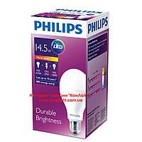 Лампа светодиодная PHILIPS LED bulb 14.5W/765 E27 А67 220-240V