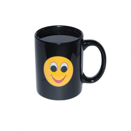 Чашка хамелеон Смайлик Улыбка, Чашка хамелеон Смайлик Посмішка, Чашки хамелеон