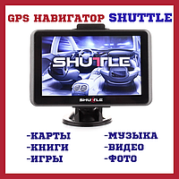 "GPS навигатор Shuttle PNA-5010  (5,0""+FM)"